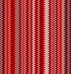 seamless red chevron pattern background retro vector image vector image