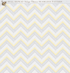 Vintage full repeat seamless chevron pattern vector