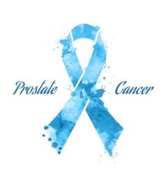 Blue ribbon vector image