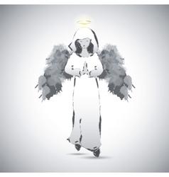 Angel image vector image