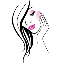 Girl fashion vector