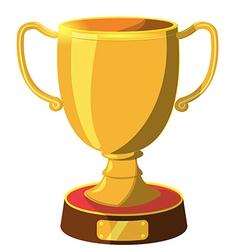 Award gold icon cartoon vector