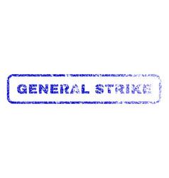 General strike rubber stamp vector