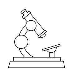 Microscope science icon image vector