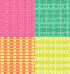 Colorful Square Pattern vector image