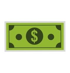 Dollar bill icon vector
