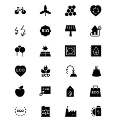 Ecology icons 5 vector