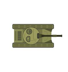 flat tank vector image