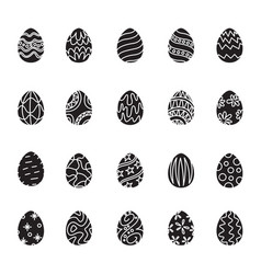 icon easter egg vector image vector image