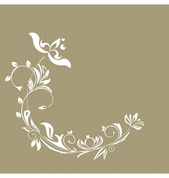 illustration of luxurious invitation card vector image vector image
