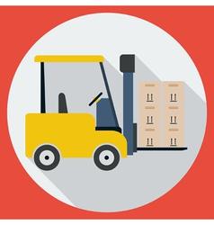 Lift-truck vector image vector image
