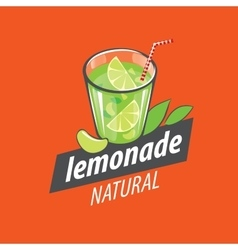logo for lemonade vector image vector image