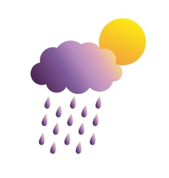 thundercloud vector image