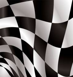 Checkered flag vector