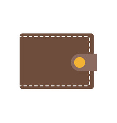 wallet safety money accessory image vector image