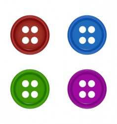 Shirt buttons vector
