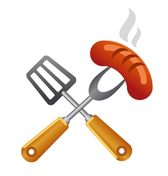 Barbecue symbol vector