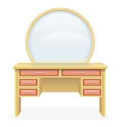 Vanity table 03 vector