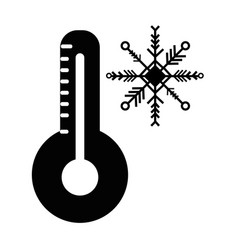 contour thermometer measure instrument to know the vector image vector image