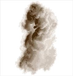 Thick smoke vector