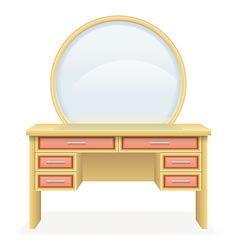 Vanity table 03 vector