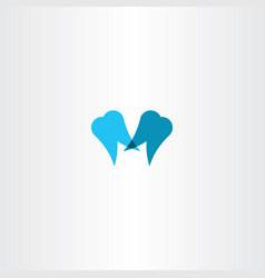 tooth icon sign logo clip art vector image