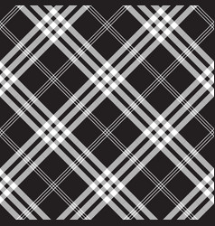 Black and white check pixel square fabric texture vector