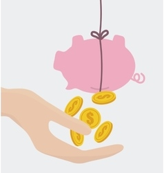 Business and money design vector image