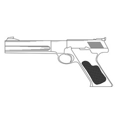 firearms vector image vector image