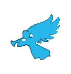 Holy spiritual angel vector