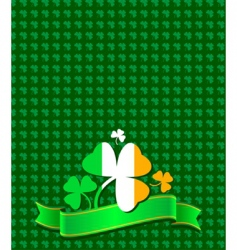 St Patrick's Design vector image vector image