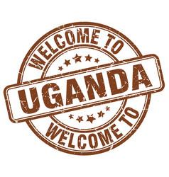 Welcome to uganda vector