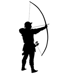 Archer warriors theme vector