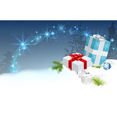 Christmas Surprise vector image