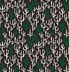 Hand drawn tribal seamless pattern vector