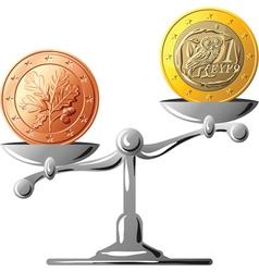 German coin vector