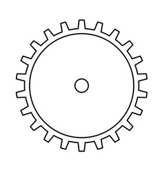 Gear wheel rotation vector