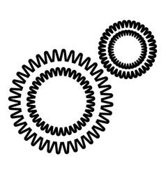 Mildew virus icon outline style vector