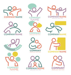 Mother and child care icons for parental vector