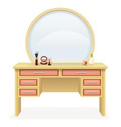 Vanity table 04 vector