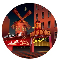 Moulin rouge vector