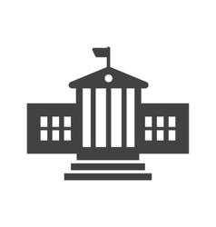 Presidential building vector