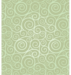 Elegant swirl seamless composition vector image vector image