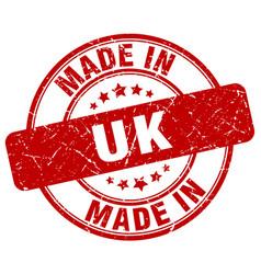 Made in uk vector