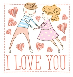 lover vector image vector image