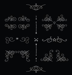 Ornate frames vector