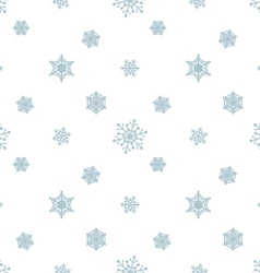 Snowflake pastel blue white background vector