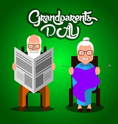 Grandparents day vector