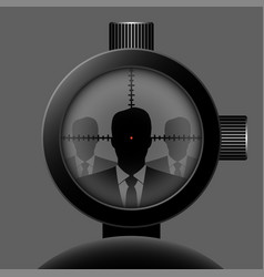 Optical sight vector
