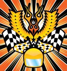 race herald vector image